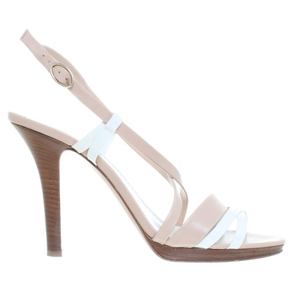 Bally Sandals in nude and white