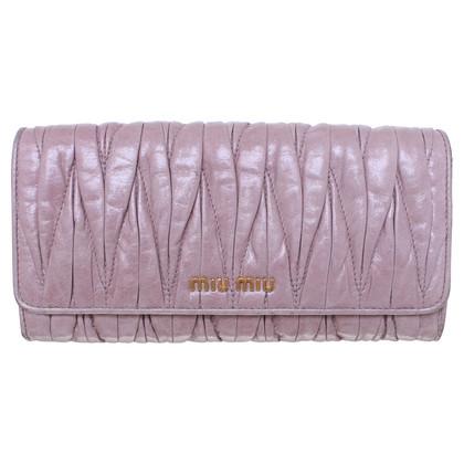 Miu Miu Wallet in pink