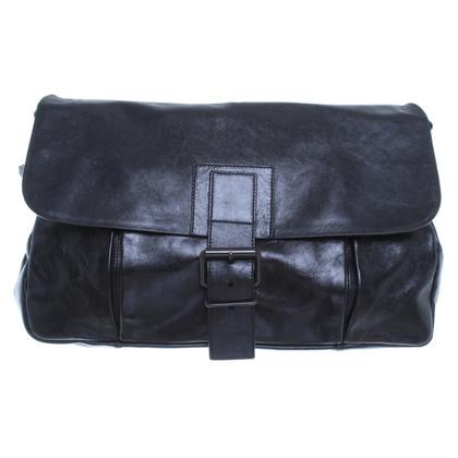 Strenesse Shoulder bag in black leather
