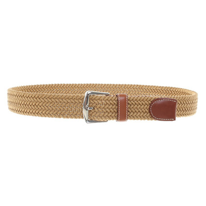 Loro Piana Belt with braiding