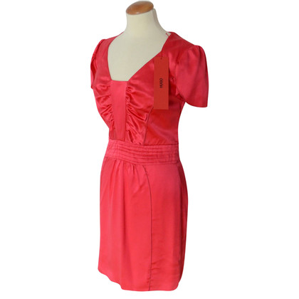 Hugo Boss pink silk dress