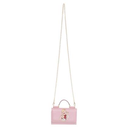 Dolce & Gabbana Lederen tas in Rosé