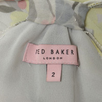 Ted Baker Seidenoberteil mit floralem Print