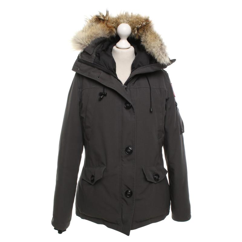 Canada Goose Down jacket in grey
