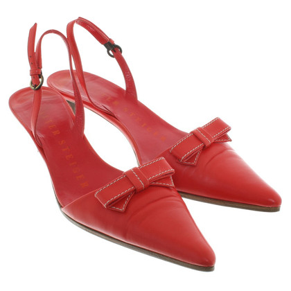 Walter Steiger pumps in red