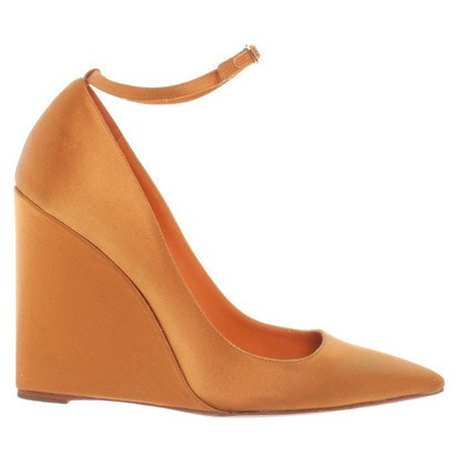 Burberry Prorsum Wedges in Orange