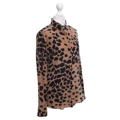 Burberry Blouse with animal print