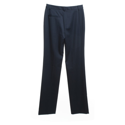 Costume National Wool pants in blue