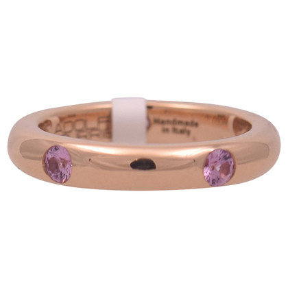 Adolfo Courrier Ring in roze goud