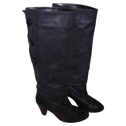 Acne zwarte laarzen