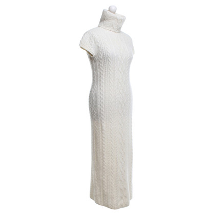 Polo Ralph Lauren Knitted dress in cream white