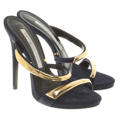 Gianmarco Lorenzi Sandals in Blue