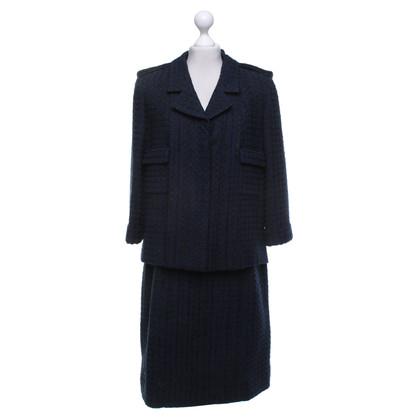Chanel Costume in blue / black