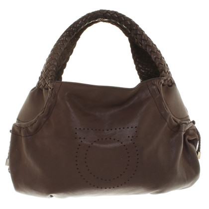 Salvatore Ferragamo Borsa in marrone