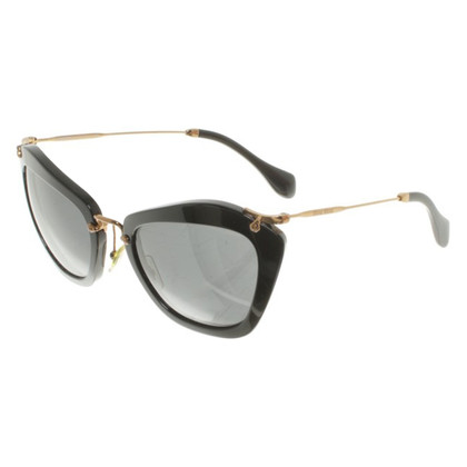 Miu Miu Sunglasses in black