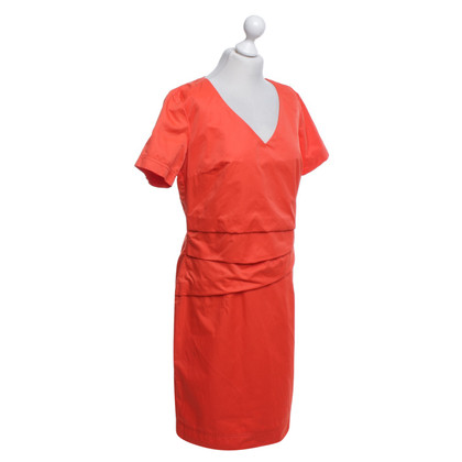 Airfield Dress in red
