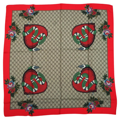 Gucci sciarpa di seta