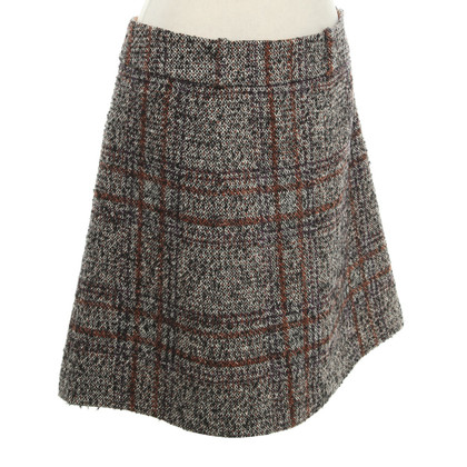 Etro Tweed skirt with pattern