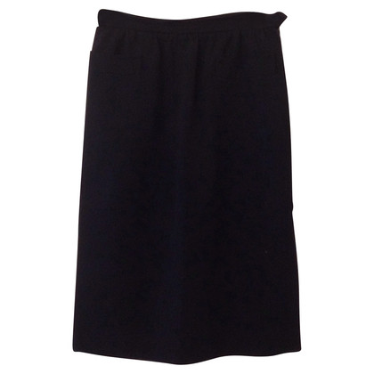 Yves Saint Laurent Cotton skirt