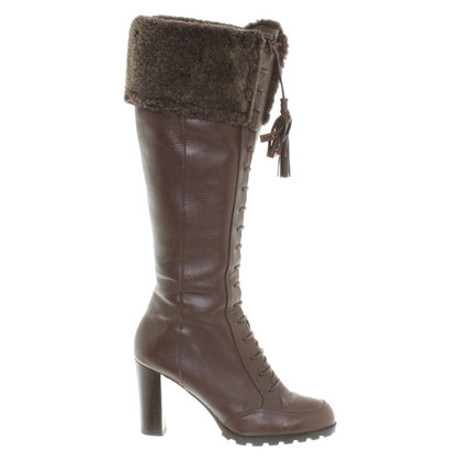 Bally Boots with fur