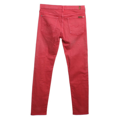 7 For All Mankind Jeans in Rot