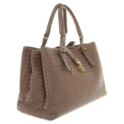 Bottega Veneta '' Roma Bag '' in brown
