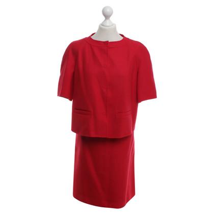 Max Mara Costume in rosso