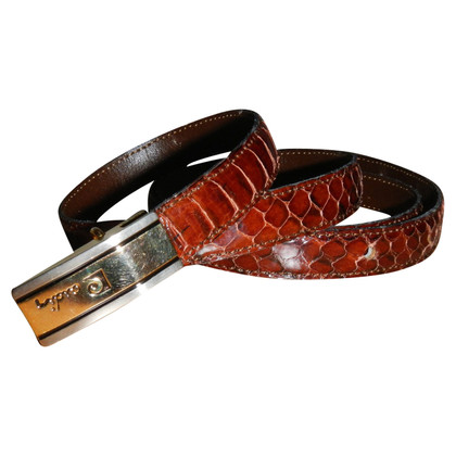 Pierre Cardin for Paul & Joe ceinture Snakeskin