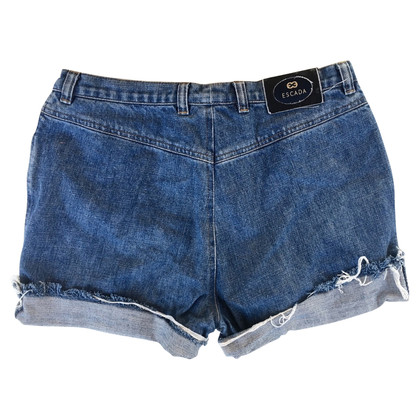 Escada Vintage Denim Shorts