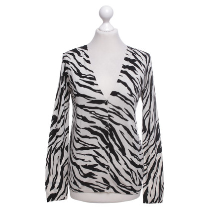 Max Mara Cardigan with zebra pattern