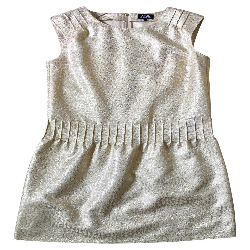 A.P.C. Gold Midi Dress