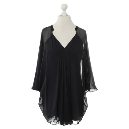 Diane von Furstenberg Silk tunic in blue