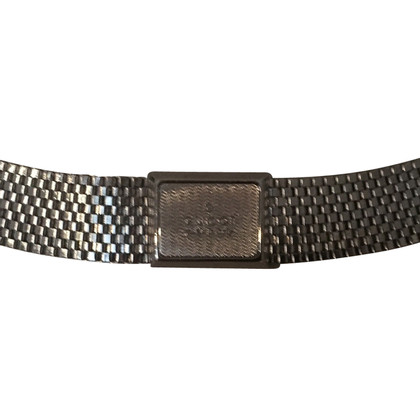 Gucci Silver colored metal belt