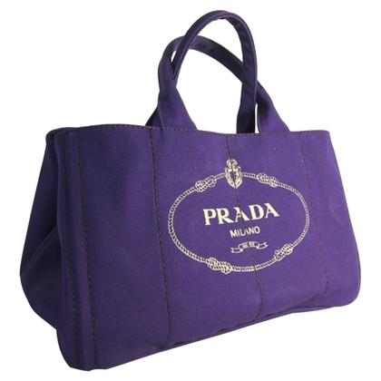 Prada Handtasche aus Canvas
