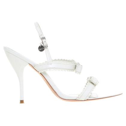 Karen Millen Sandals in white