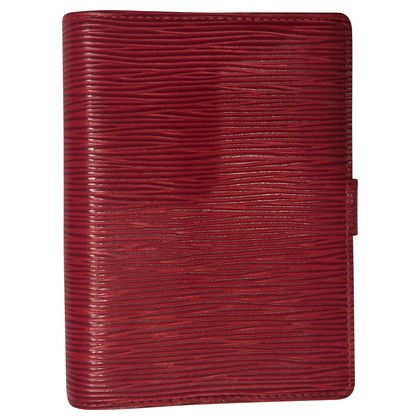"Louis Vuitton ""Agenda PM EPI' in rosso"