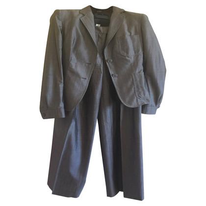 Max Mara lana completo pantalone / seta
