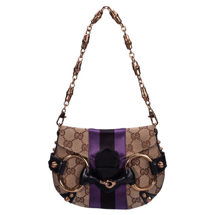 Gucci Shoulder bag with horsebit detail