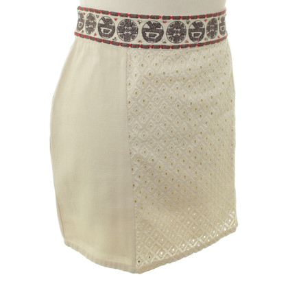 Hoss Intropia Mini rok in beige