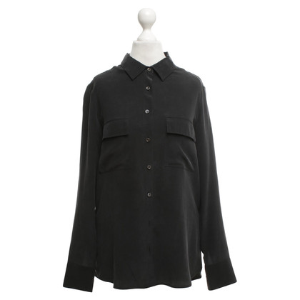 Equipment Silk blouse in black