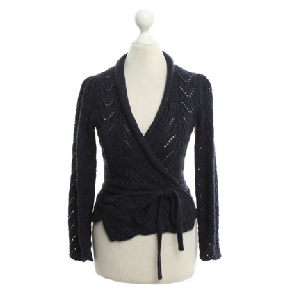Louis Vuitton Avvolgere giacca blu scuro