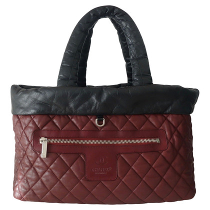 Chanel Wendeshopper leather