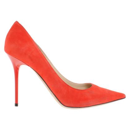 Jimmy Choo pumps in rood