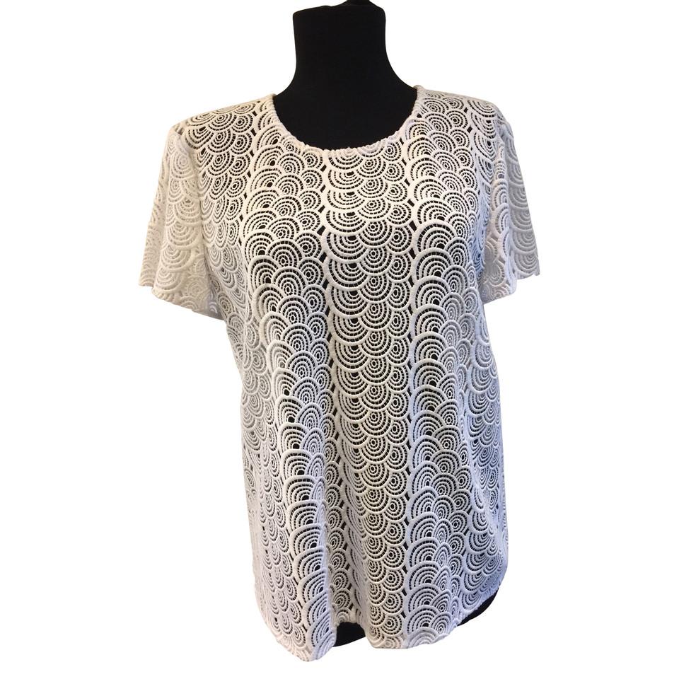 Diane von Furstenberg Shirt aus Spitze