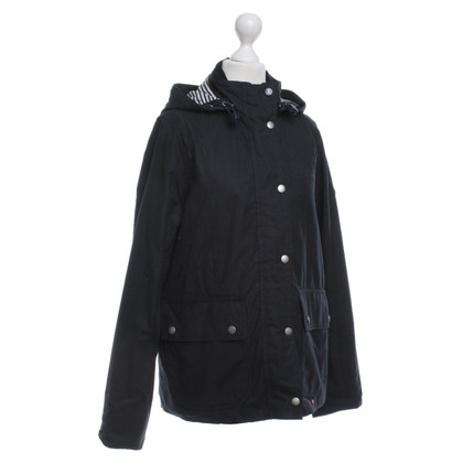 Barbour Parka in Schwarz