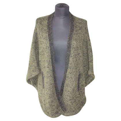 Duffy Chunky knit jacket in cashmere