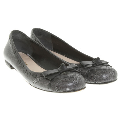 Prada Ballerinas aus Leder