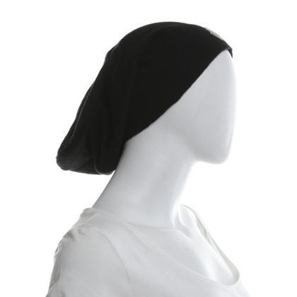 Moncler Mütze in Schwarz
