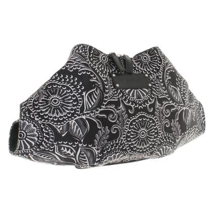 McQ Alexander McQueen clutch en noir / blanc