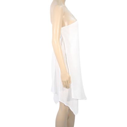 Michael Kors Transparente Tunika in Weiß